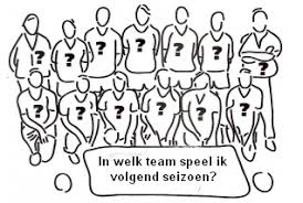 Jeugd: Team indeling