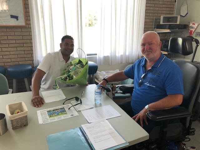 Contract Johnny Merks en seizoensopening