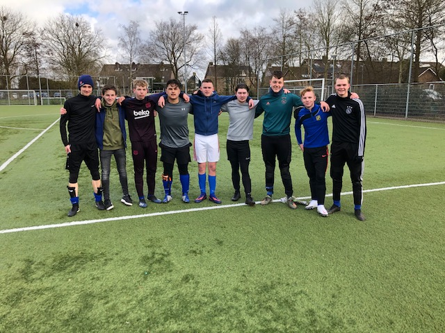 Geslaagde 1e 7x7 clubtoernooi voor jong volwassenen bij sv Ilpendam
