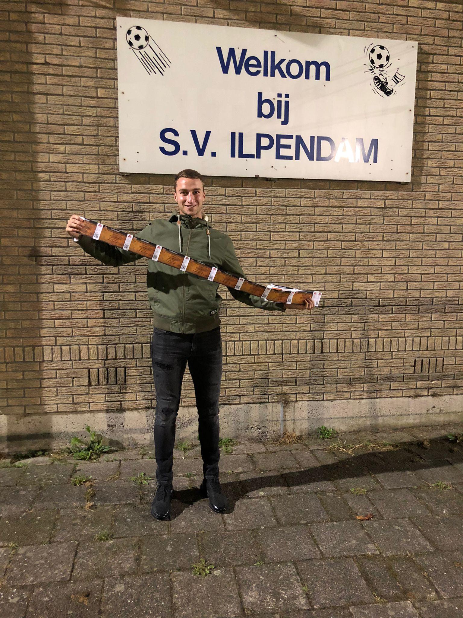 SV Ilpendam op bezoek bij FC Volendam